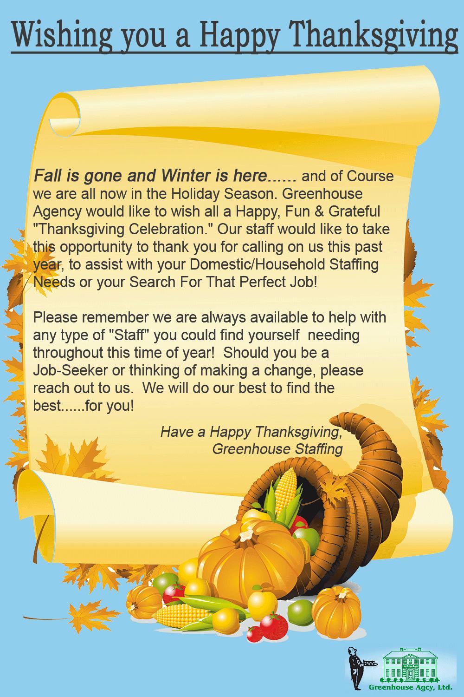 Greenhouse-Thanksgiving